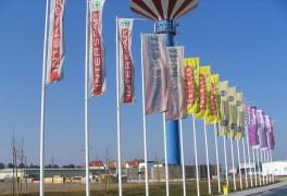 Céges zászló (reklám zászló)