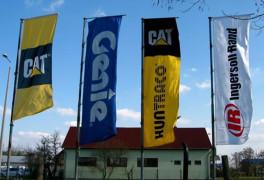 Molinók, zászlók